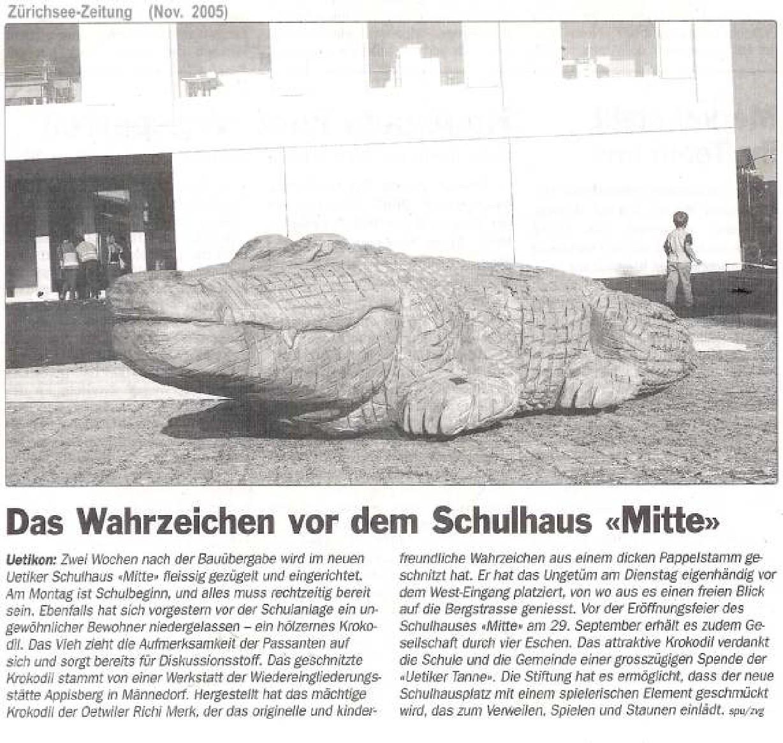 Zürichsee-Zeitung November 2005