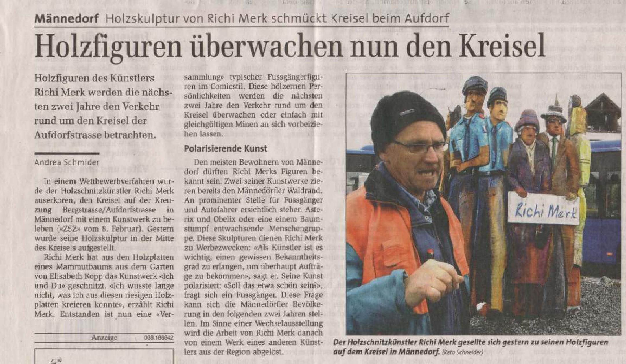 Zürichsee-Zeitung 31. März 2007