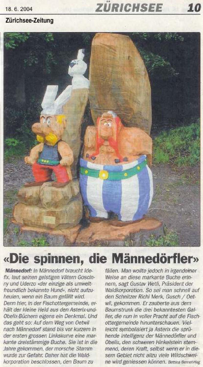 Zürichsee-Zeitung 18. Juni 2004